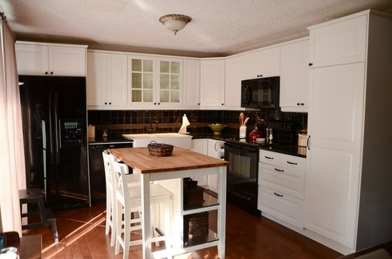 Portable Kitchen Island With Seating - Google Search