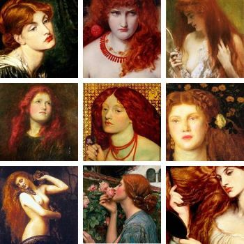 Redheads in art There's no denying that redheads have captured the eye of artists for centuries, some of the most iconic muse's in history are redheads. - See more at: