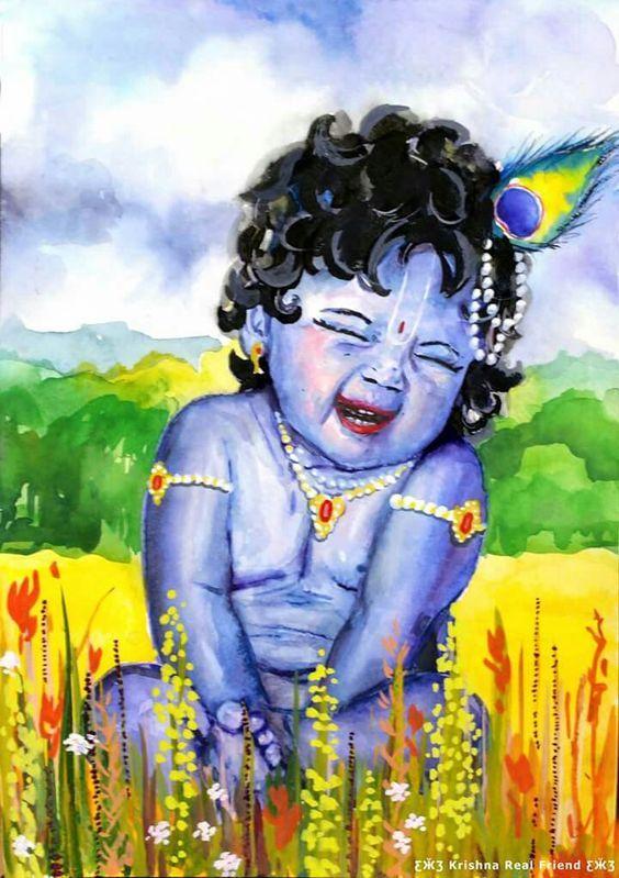 Pin By Sampa Sen On Hare Krishna Lord Krishna Images Krishna Images Little Krishna