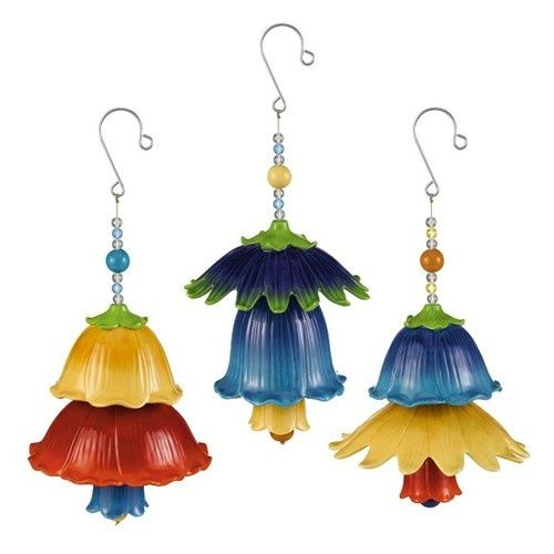 images of clay pot windchimes   Ceramic Flower Wind Chimes