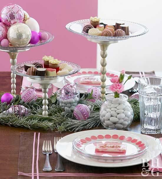 Pin On Christmas Dining Rooms