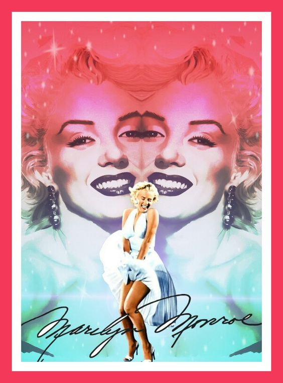 Diva Marilyn, uma de minhas criações Confira  Imagem em #PicsArt  Crie o seu gratuitamente https://bnc.lt/f1Fc/bK09FqM5Un