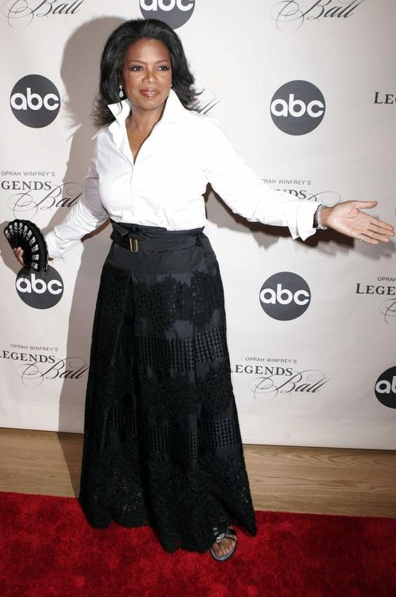 Fotos: os melhores looks de Oprah Winfrey  casual chic fashion, chic  me, rustic chic, working chic, minimal chic, chic clothing, style chic, fall  chic, winter chic, styles casual chic