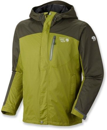 Mountain Hardwear Ampato Rain Jacket - Men\'s - 2012 Closeout $170