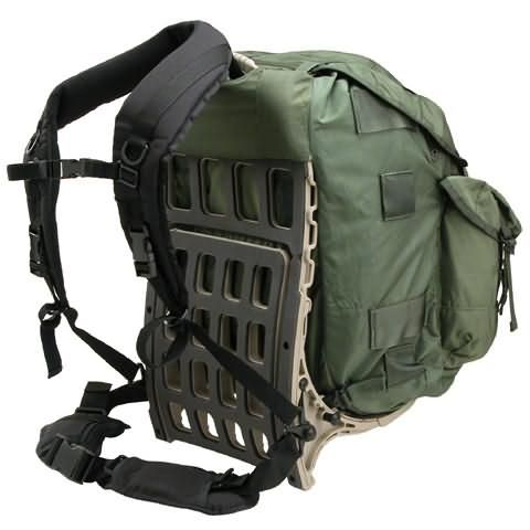 alice pack on azora pack mule frame