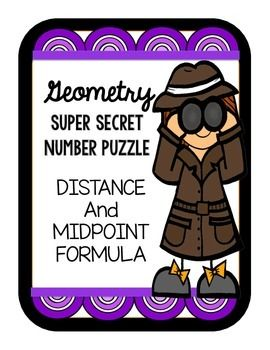 Worksheets Activity Worksheet Distance And Midpoint Exploration Answers distance and midpoint formula super secret number game student paper