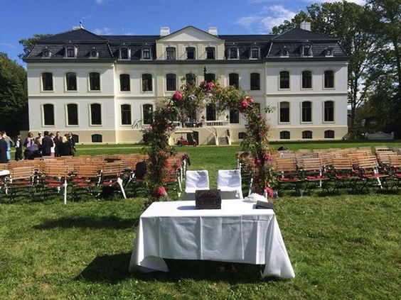 Trauung Schlosswiese