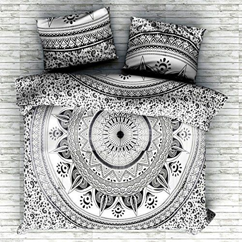 Girls Light Pink White Grey Bohemian Mandala Comforter Twin Xl Set