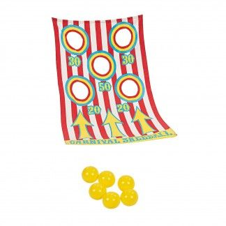 Circus Ball Toss Game | Party Favours - Discount Party Supplies