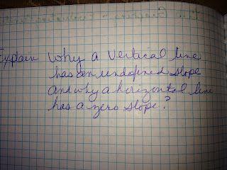 I Teach Math....output for Slope lesson plan