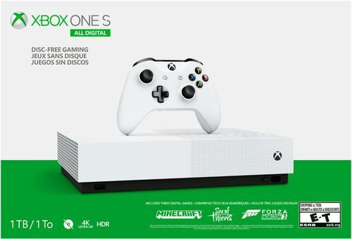 Fortnite Best Console To Play On Microsoft Xbox One S 1tb All Digital Edition Console Disc Free Gaming Njp 00024 Best Buy Xbox One S Xbox One S 1tb Xbox One Bundle