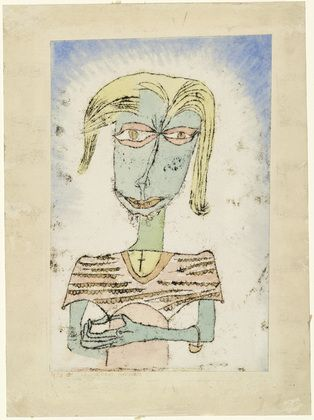 Paul Klee. Christian Sectarian (Christlicher Sectierer). 1920