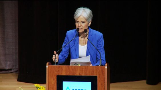 """Green Party Nominee Jill Stein: """"We Are Saying No to the 'Lesser Evil' and Yes to the Greater Good"""". Democracy Now"""