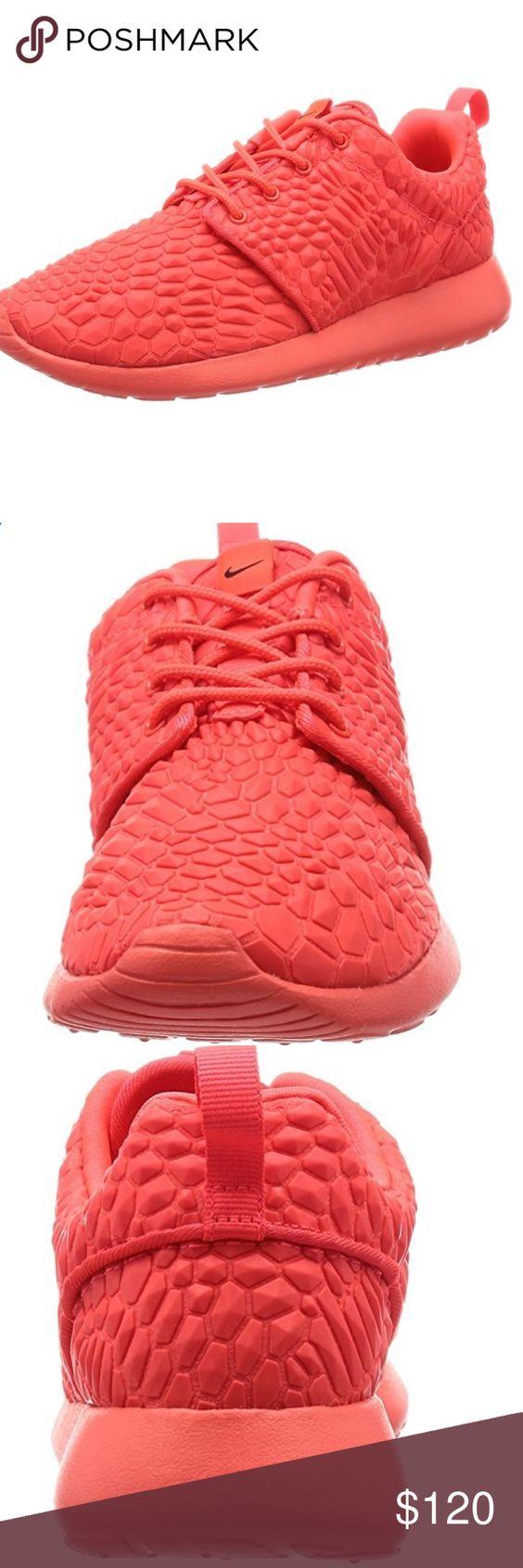 Nike roshe one dmb red womens - Nwt Nike Roshe One Dmb Running Shoes In Crimson Nike Womens W Roshe One Dmb