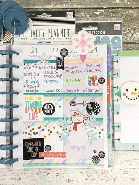 Picture 3 of January Planner by MaryAnnM