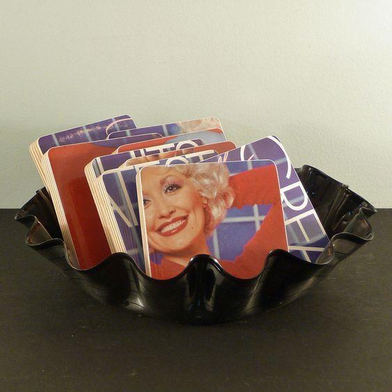 Dolly Parton Basket of Coasters | Flickr - Photo Sharing!