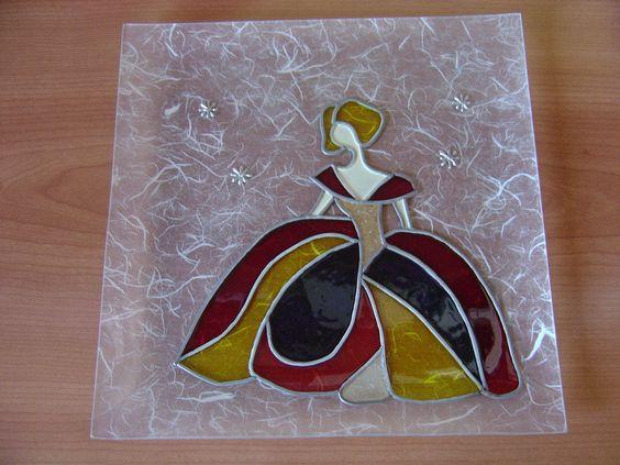 Como pintar meninas de marmolina o escayola diy y - Cuadros de escayola ...