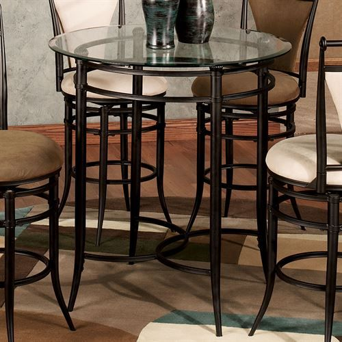 Camira Cafe Counter Height Bistro Table In 2020 Bistro Table Cafe Counter Table