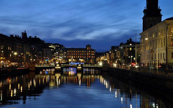Gothenburg, Sweden: Night Photo, Gothenburg Sweden