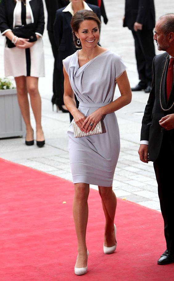 Kate Middleton Breaks From Olympics-Watching For a Gala: Duchess Of Cambridge, Roksanda Ilincic, Classy Kate, The Dress, Kate Middleton, Princess Kate