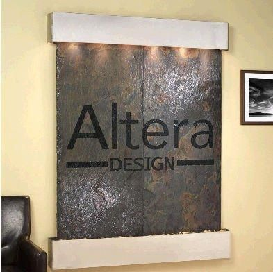 Adagio MRS2004 Majestic River - Rajah Natural Slate Wall Fountain  #Adagio #Home