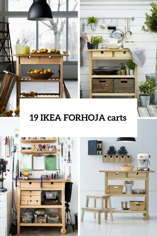19 IKEA FÖRHÖJA Cart Storage And Display Ideas For Every Home - outdoor küche ikea