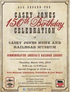 Casey Jones 150th Birthday Celebration