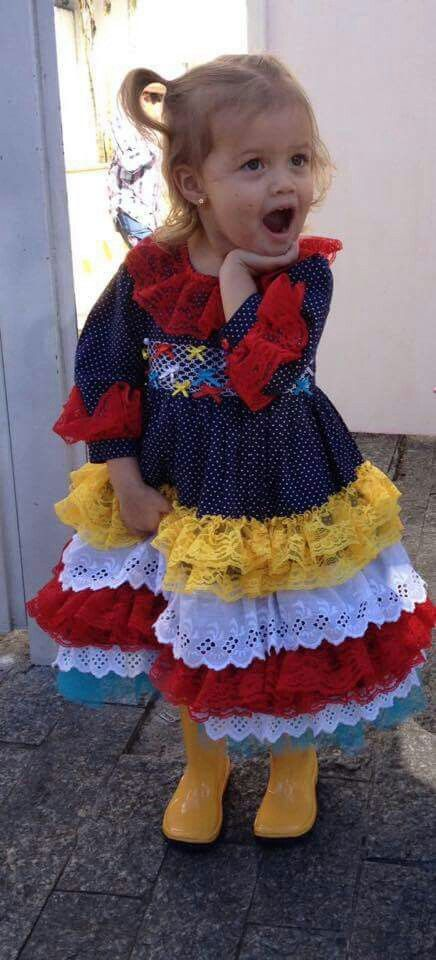 Vestido de quadrilha: