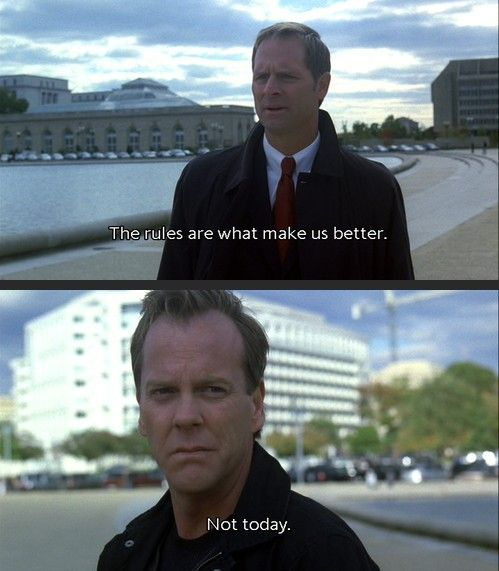 Jack Bauer Funny Quotes: Larry Moss And Jack Bauer; Season 7