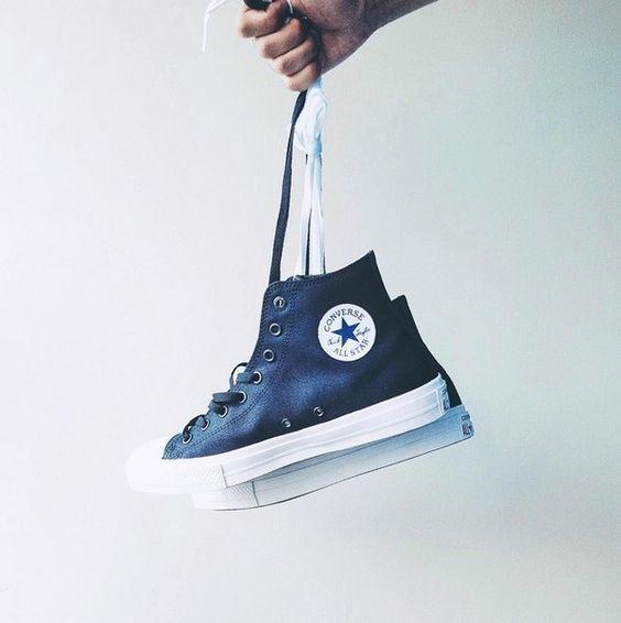 converse chuck xanh