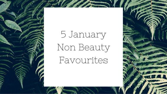 non beauty favourites