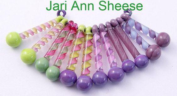 Jeri Ann's work is always beautiful and versitile! MonaRAEbeads.com