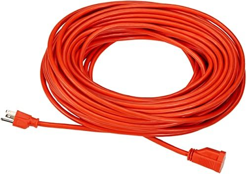 New Amazonbasics 16 3 Vinyl Outdoor Extension Cord Orange 100 Foot Online Shopping In 2020 Outdoor Extension Cord Extension Cord Cord