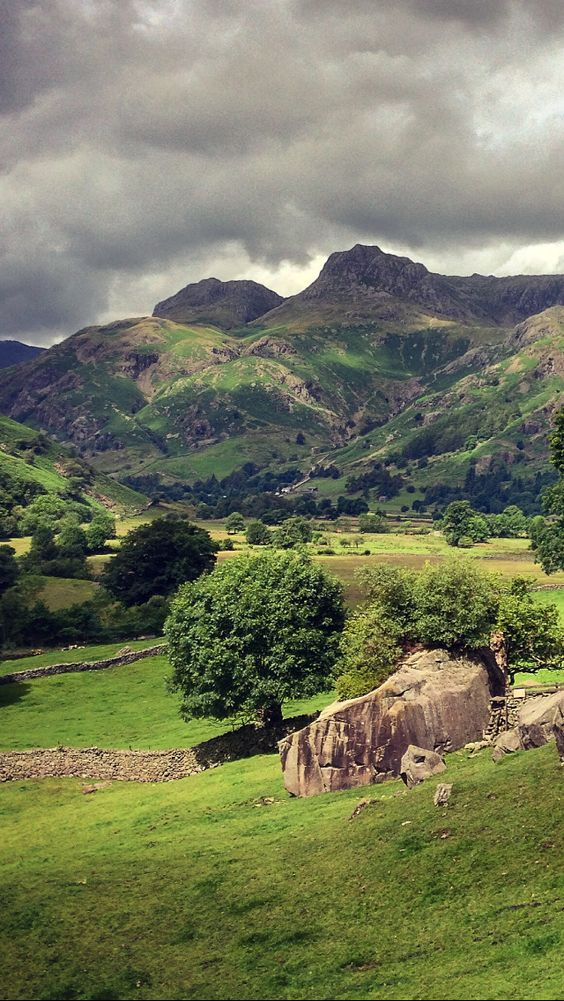 moonsurf: The Langdale Boulders, The Lake District, Cumbria, England