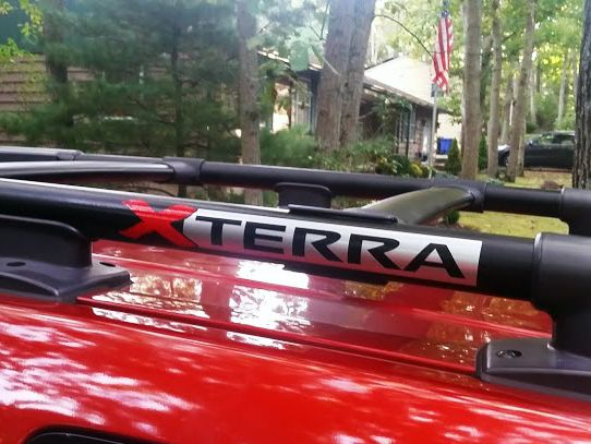 2x Nissan Xterra Roof Rack Decal Emblem 2 Colors Nissan Xterra Nissan Roof Rack