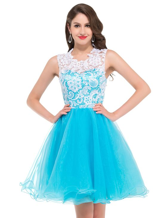 Light blue cocktail dress cheap | Color dress | Pinterest ...