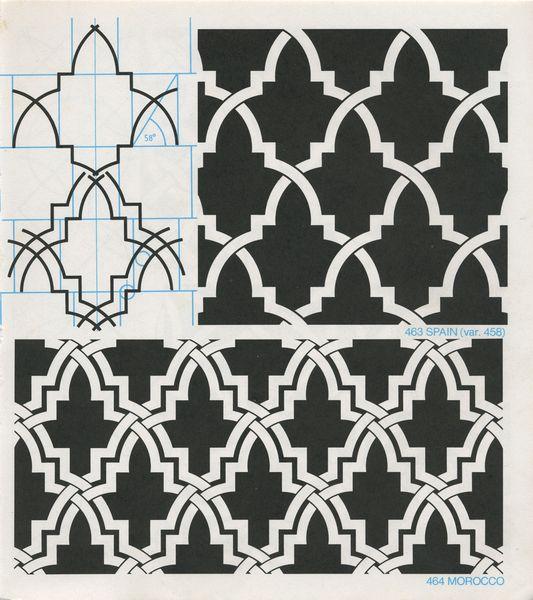 Gpb 061 Geometric Patterns Borders David Wade Pattern In