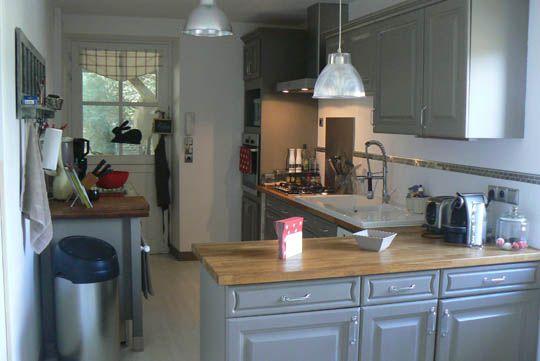une cuisine r nov e du beau avec de l ancien cuisine. Black Bedroom Furniture Sets. Home Design Ideas