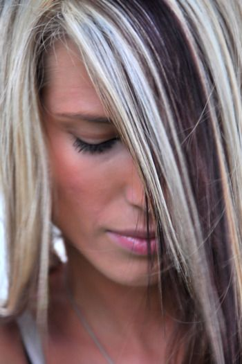 Heavy Highlights Highlights And Blondes On Pinterest