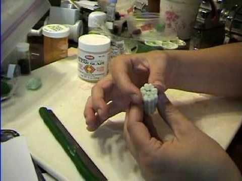 Cucumber Cane in Polymer Clay by Garden of Imagination How to Make