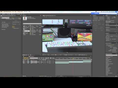 Adobe After Effects Cs6 Tutorial Attaching Content To 3d Camera