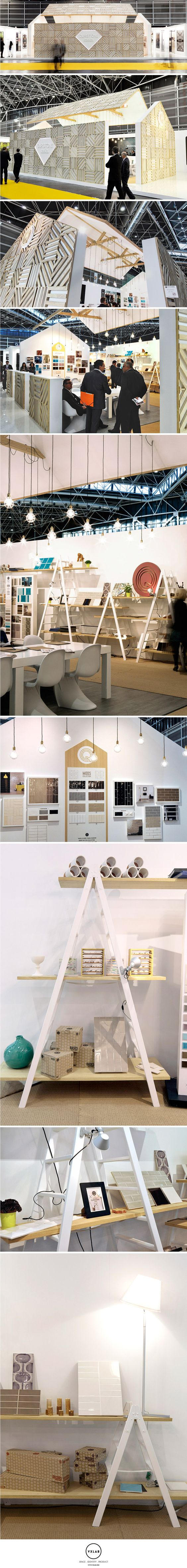 Blooming House Stand Project - Durstone & Q Tiles Cevisama 2013 Exhibition. Design by VXLAB www.vxlab.org:
