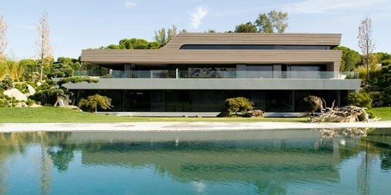 Pin By Andrea Bianchi On HOUSES Pinterest Architecture And House - Bn house perfect space for relaxation surrounded by exotic landscape madrid spain