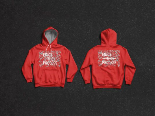 Download Red Hoodie Mockup Front And Back Hoodie Mockup Hoodie Mockup Free Clothing Mockup