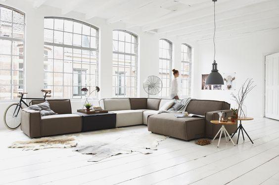 Hoekbank brooklyn stoer en eigenzinnig design de wijk brooklyn is hip trendy en levendig en - Ontwerp banken ...