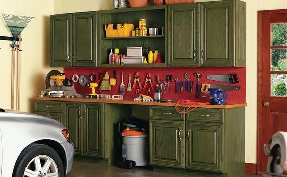 Putting Kitchen Cabinets In Garage
