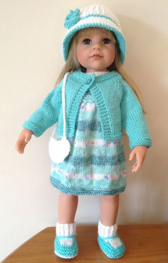 american girl doll gotz hannah designafriend 8pc hand knitted outfit for sale on ebay till. Black Bedroom Furniture Sets. Home Design Ideas