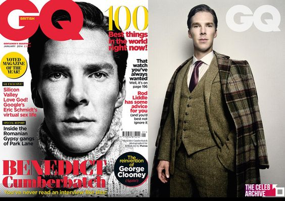 Benedict Cumberbatch covers GQ! Explaining why he seems to be unlucky in love, the 37-year-old said: 'It is harder [meeting women], because people think they know more about you than they actually do...he added 'And you can't control that… you can't control perceptions of you.'  More pics > http://www.thecelebarchive.net/ca/gallery.asp?folder=/benedict%20cumberbatch/