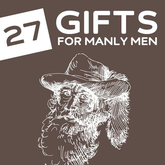 27 Outrageously Masculine Gifts for Manly Men Regalos de navidad