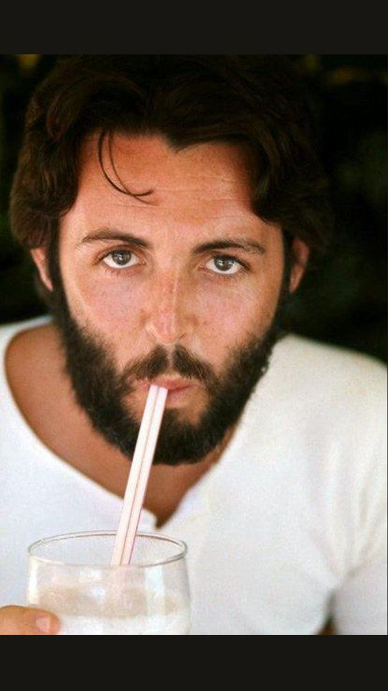 Paul McCartney is not only beautiful but makes beautiful music, too.